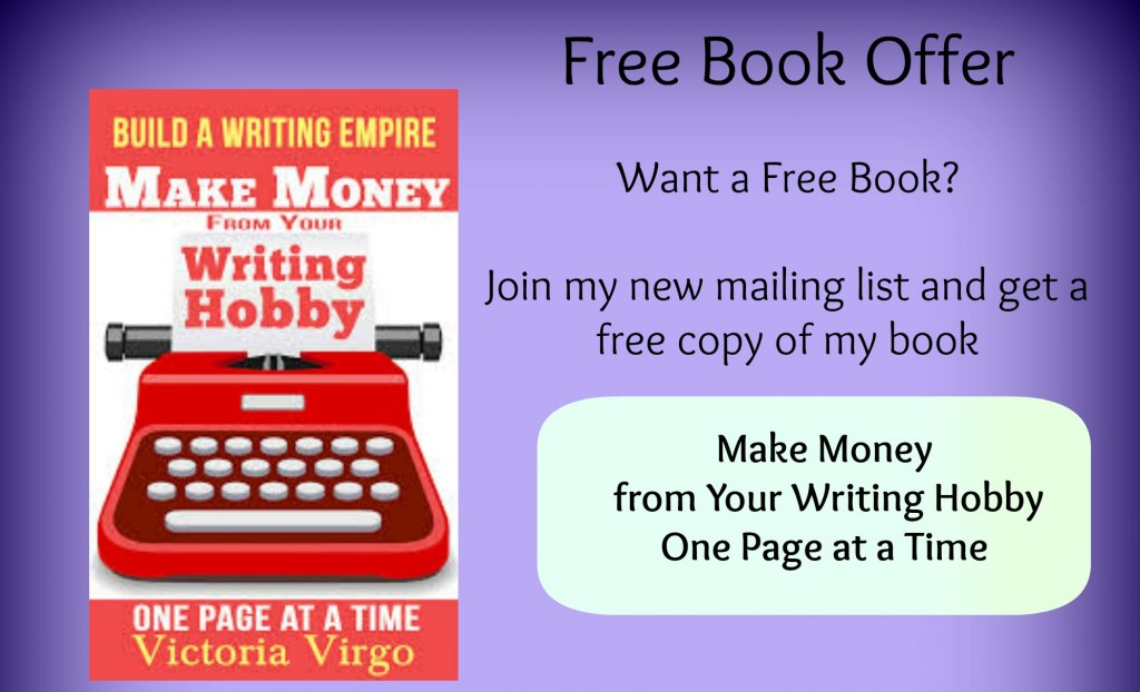 Free Book Offer from Victoria Virgo Website